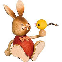 Snubby Bunny with Chick  -  12cm / 4.7 inch