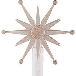 Stern zum Aufstecken für Elektro - Schwibbögen  -  10cm