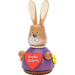 Teeter Bunny with Heart  -  9,8cm / 3.9 inch