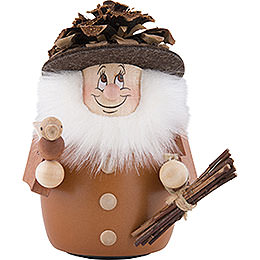 Teeter Gnome Cone Man Natural  -  11,5cm / 4.5 inch