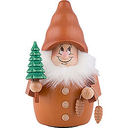 Teeter Gnome Forest Man Natural  -  13cm / 5.1nch