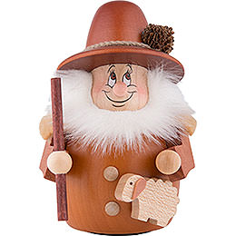 Teeter Gnome Shepherd Natural  -  12cm / 4.7 inch