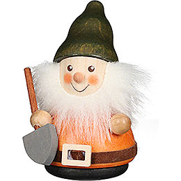 Teeter Man Dwarf with Shovel  -  8cm / 3.1 inch