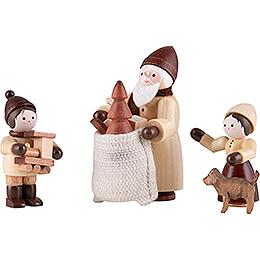 Thiel - Figuren Bescherung  -  natur  -  4 - teilig  -  6,5cm