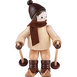Thiel Figurine  -  Downhill Skier  -  natural  -  6,5cm / 2.6 inch