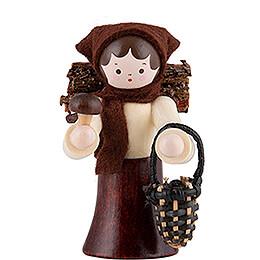 Thiel Figurine  -  Mushroom Woman  -  natural  -  6cm / 2.4 inch