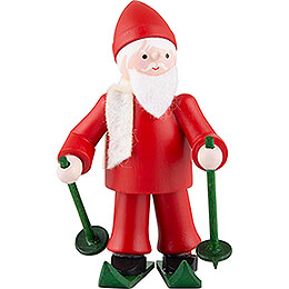 Thiel Figurine  -  Rupert on Ski  -  red  -  6,5cm / 2.6 inch