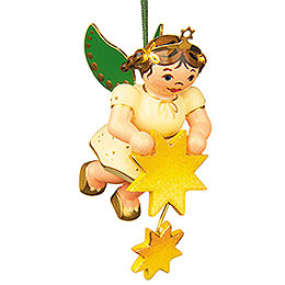 Tree Ornament  -  Angel Stars Taler  -  6cm / 2,5 inch