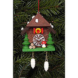 Tree Ornament  -  Cuckoo Clock  -  5,8cm / 2.3 inch