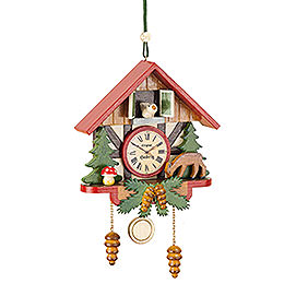 Tree Ornament  -  Cuckoo Clock Forest  -  10cm / 3,9 inch
