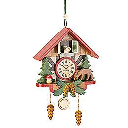 Tree Ornament  -  Cuckoo Clock Forest  -  10cm / 3,9 inch