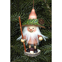 Tree Ornament  -  Forest Gnome Natural  -  11,5cm / 5 inch