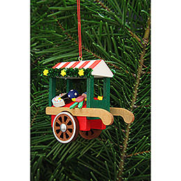 Tree Ornament  -  Market Cart with Toys  -  7,1cm / 2.8 inch