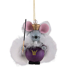Tree Ornament  -  Mouse King  -  9cm / 3.5 inch