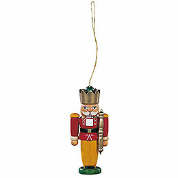 Tree Ornament  -  Nutcracker King Colored  -  8cm / 3.1 inch