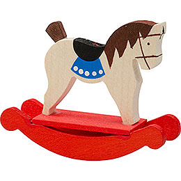 Tree Ornament  -  Rocking Horse  -  5cm / 2 inch