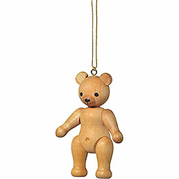 "Tree Ornament  -  ""Teddy Standing""  -  7cm / 2.8 inch"