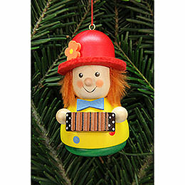 Tree Ornament  -  Teeter Man Clown  -  7,5cm / 3 inch