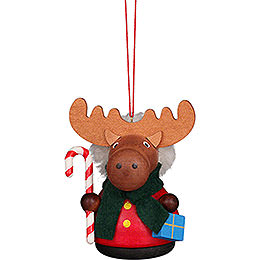 Tree Ornament  -  Teeter Man Moose  -  7,5cm / 3 inch