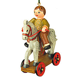 Tree Ornament  -  The First Ride  -  7,5cm / 3 inch