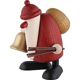 Weihnachtsmann mit Glocke und Rute  -  9cm