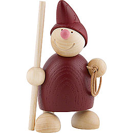 Wight with Crook and Lasso  -  Red 10cm / 4 inch