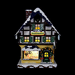 Winter Children Sugar Bakery Illuminated  -  15cm / 6 inch