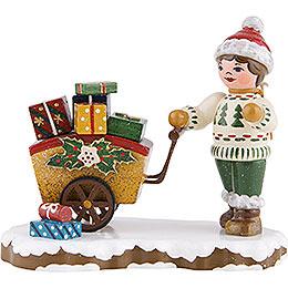 Winterkinder Geschenkekind  -  8cm