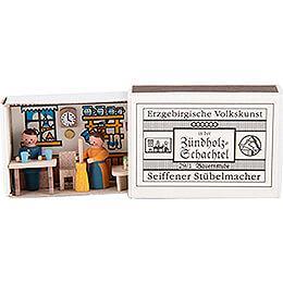Zündholzschachtel Bauernstube  -  3,8cm
