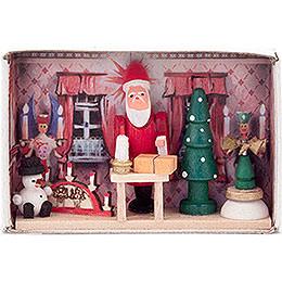 Zündholzschachtel Weihnachtsstube  -  4cm